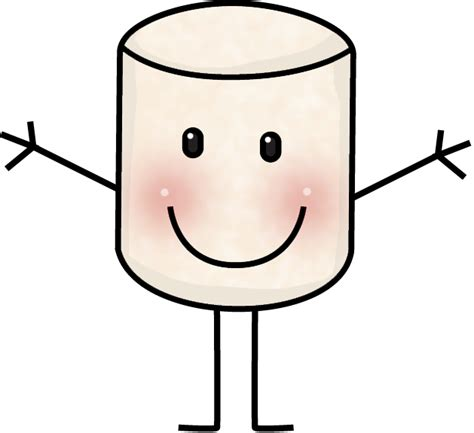 marshmallow clipart marshmellow clipart transparent pencil and in color