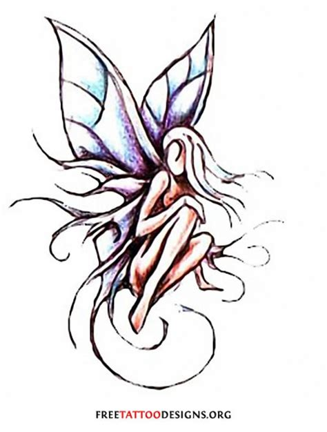 small fairy tattoo for inspire 187 a to z