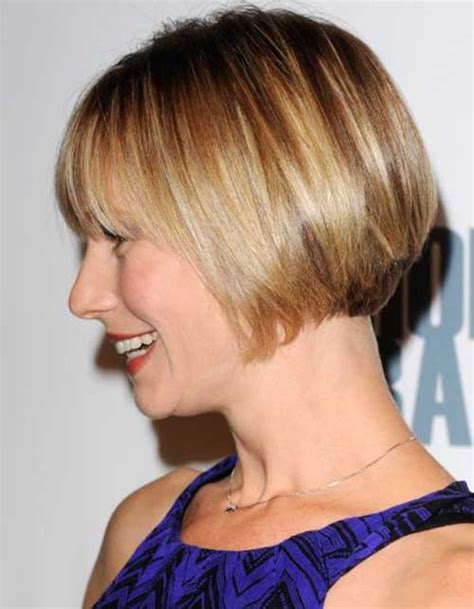 short hairstylescuts for fine hair with back and front view bob cuts for fine hair short hairstyles 2017 2018