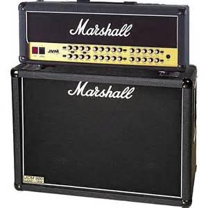 marshall mx212 2x12 guitar speaker marshall jvm410h and 1936 2x12 tube guitar half stack