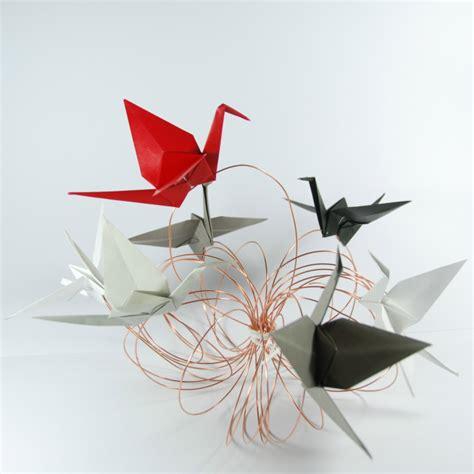 Origami Crane Centerpiece - origami cranes centerpiece tutorial rossanarama handmade
