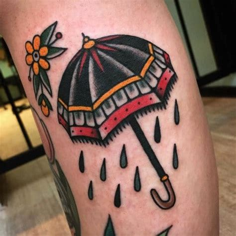 tattoo umbrella eye when it rains it pours umbrella tattoo design by guendouglas