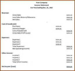 13 income statement format bibliography format