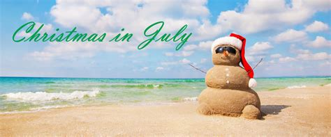 christmas in july christmas in july retail advertising promotion