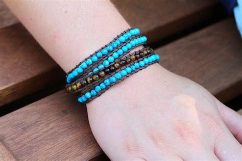 beaded wrap bracelet diy beaded wrap bracelet diy a la cart