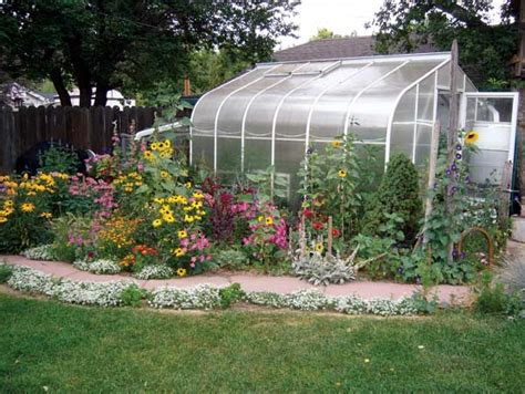 backyard greenhouse kit home and country living greenhouse gardening