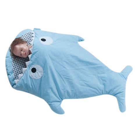 schlafsack und decke baby neu mehrzweck baby hai hinuntergef 252 hrt windeln