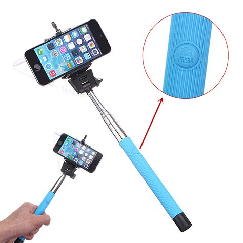 Monopod Selfie extendable handheld monopod selfie stick with 3 5mm cable sale banggood sold out