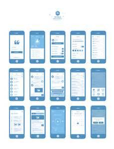 mobile wireframe kit psd freebie siliconchaos com