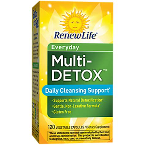 Vitamin Shoppe Detox Reviews by Product Image For Daily Multi Detox 120 Veggie Caps