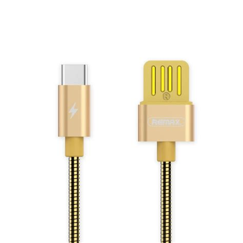 Remax Cable Data Charging Type C To Type C Rc 046a Golden Ready remax rc 080a 1m usb to usb c type c data sync charging