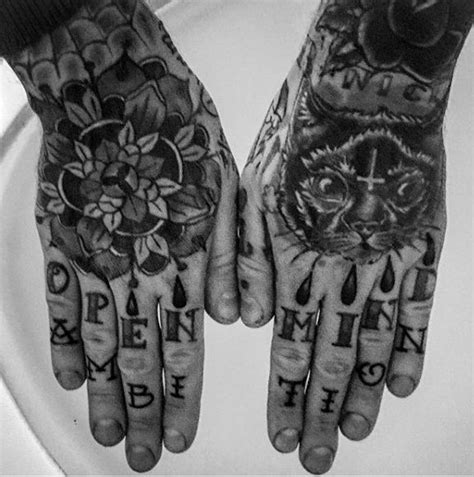 ring finger tattoos for men ring finger for letting with open mind ambition