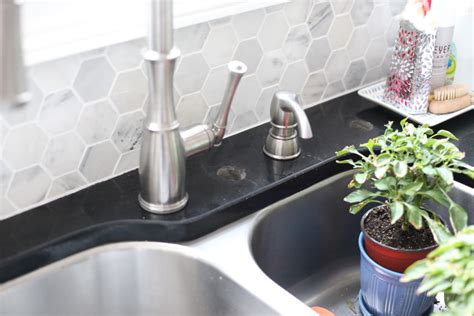 Kitchen Faucet Nickel cover it plug it wipe it down bower power