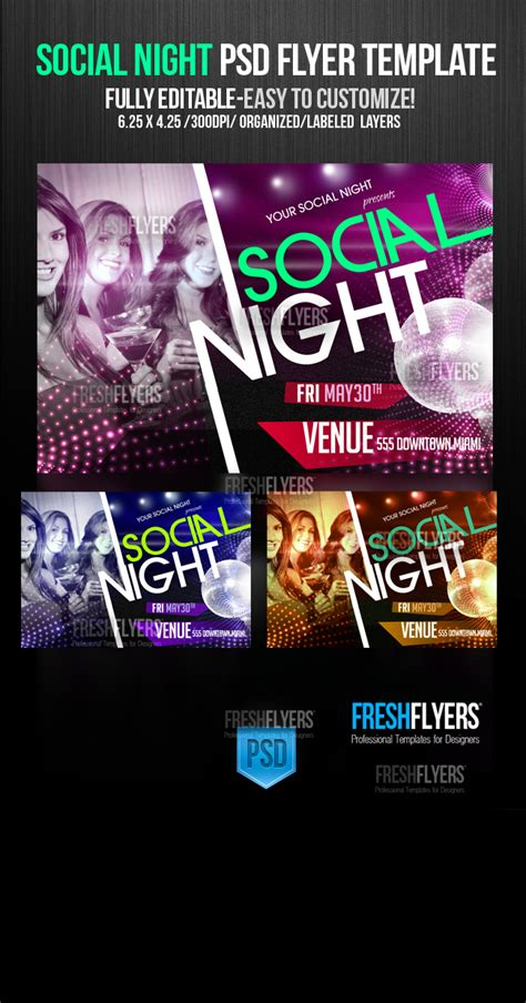 social flyer template social flyer templates by imperialflyers on deviantart