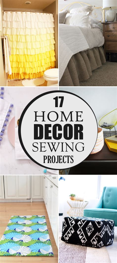 17 home decor sewing projects