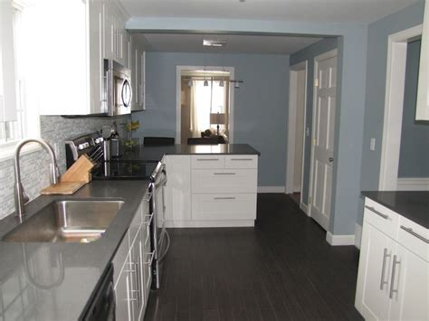 slate blue paint color contemporary kitchen benjamin kentucky