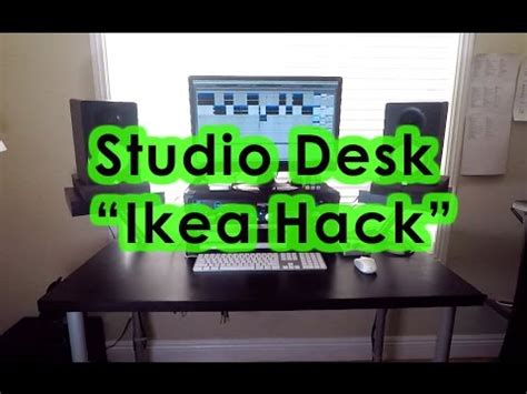 home studio desk ikea studio desk ikea hack home studio tour