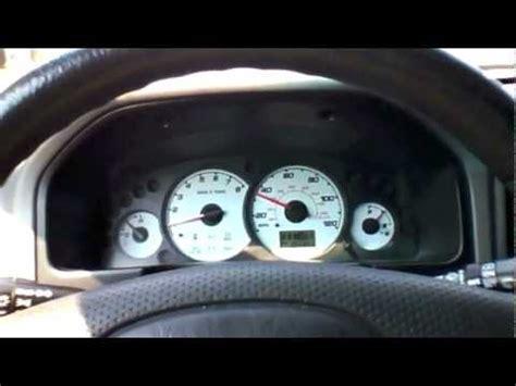 2001 ford escape xlt v6 0 55 at 3/4 throttle test run