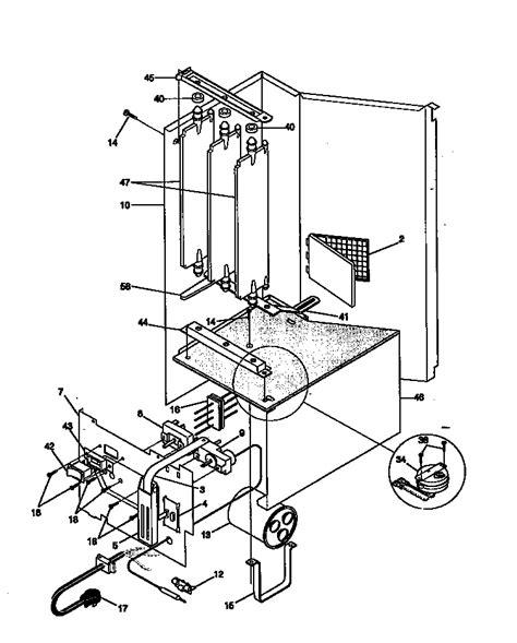 kenmore air conditioner compressor parts model 25378156890 searspartsdirect