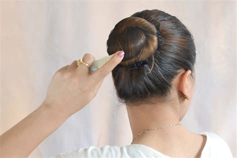 in a bun how to make a bun 13 steps with pictures