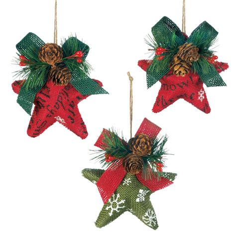 wholesale christmas stars ornament set