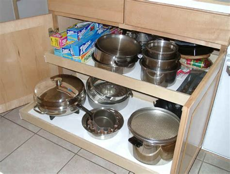Kitchen Cabinet Roll Out Shelf   MF Cabinets