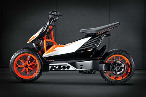 Ktm Motor Ktm E Speed An Electric Scooter From Austria Motor Car