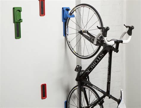 Vertical Bike Racks by Endo Fold Flat Vertical Bike Storage System By Cycloc