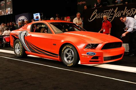 Cobra Auto 2014 by 2014 Ford Mustang Cobra Jet Prototype Gets 200 000 At Auction
