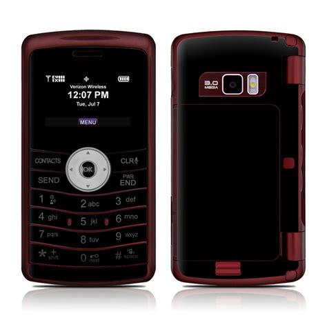 LG enV3 Skin - Solid State Black by Solid Colors | DecalGirl Env3