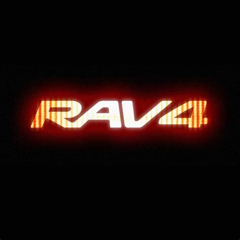 toyota rav4 logo streetfx motorsport and graphics toyota rav4 glowing