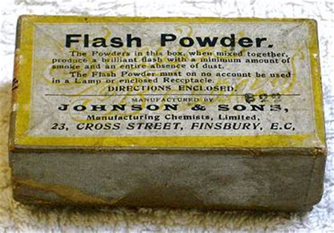 a brief history of photographic flash