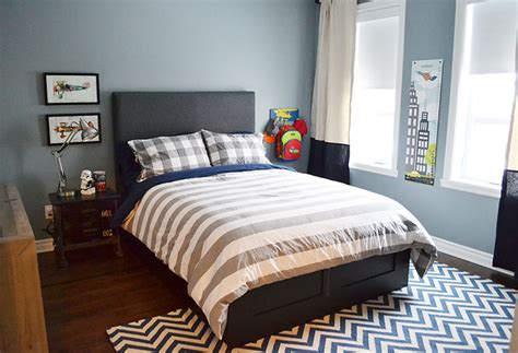 boys room interesting use of one big upholstered ashley shaanan 187 big boy room