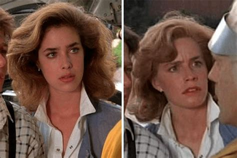 elisabeth shue back to the future 1 14 incredibili foto del dietro le quinte del film quot ritorno