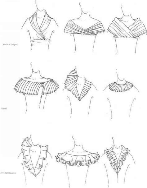 fashion design necklines neckline different collars and neckline patterns