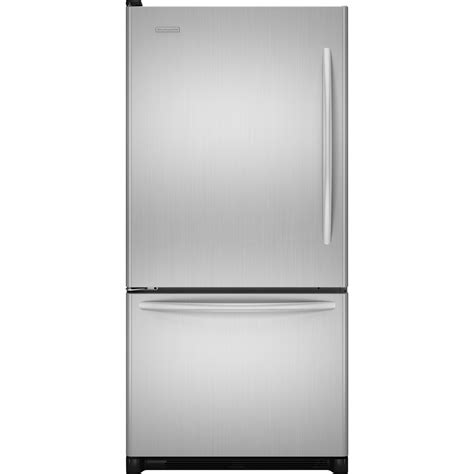 Refrigerator Door by Kitchenaid Bottom Freezer Refrigerator 21 9 Cu Ft