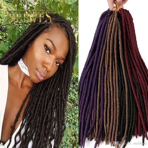 where to buy dread verves 18 inch crochet hair faux locs dreadlocks braids