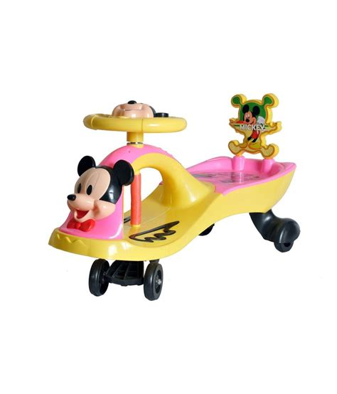 magic swing car happy kids magic swing car with music mickey mouse