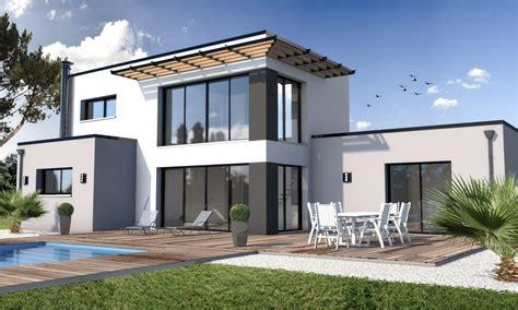 Constructeur Maison Moderne Toit Plat by Cuisine Maisons Modernes Constructeur Maison Individuelle