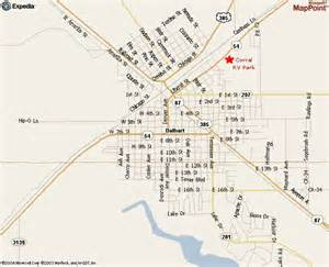 map of dalhart corral rv park maps and directions