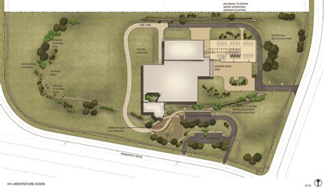 architectural site plan renderings of the nwsc facility ncar wyoming