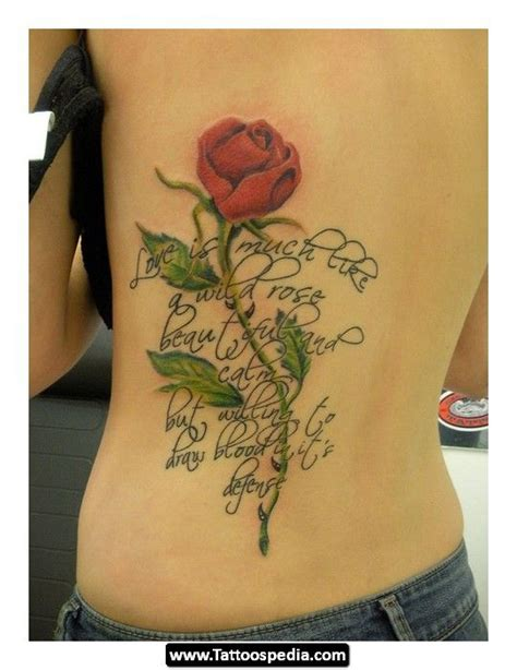 rose tattoo script vine script search ideas