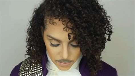 halloween hairstyles for curly hair you have to see this prince halloween costume tutorial