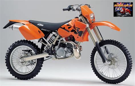2004 Ktm 200 Exc Review Image Gallery 2004 Ktm 200