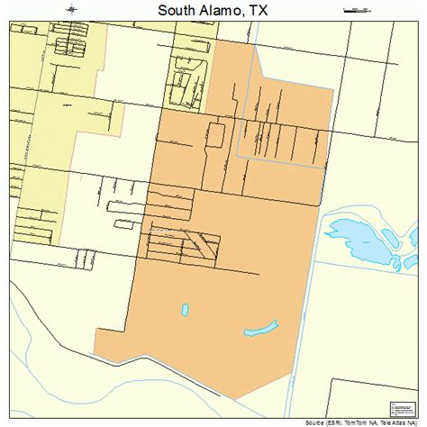 map of alamo texas south alamo texas map 4868846