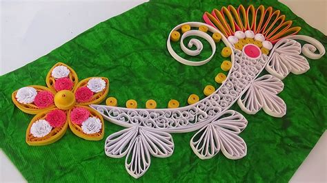 How To Make Paper Quilling - paper quilling how to make new model design quilling