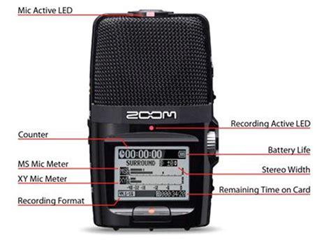 H2n Handy Recorder Zoom by Zoom H2n