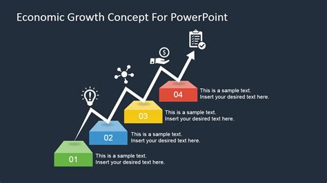 powerpoint templates economics economic growth concept for powerpoint slidemodel