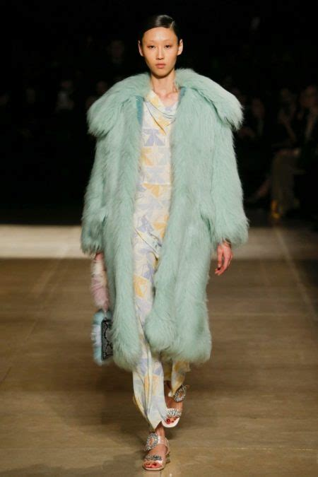 Miuccia Prada Bored With Fur by Miu Miu 2017 Fall Winter Runway