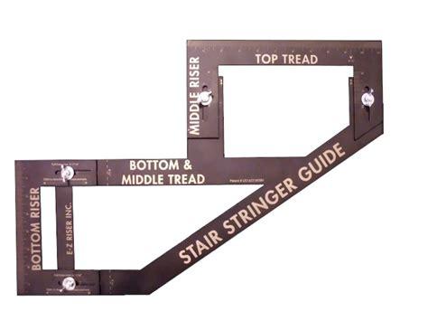 Backyard Office Shed E Z Riser Inc 100 Stair Stringer Guide At Sutherlands
